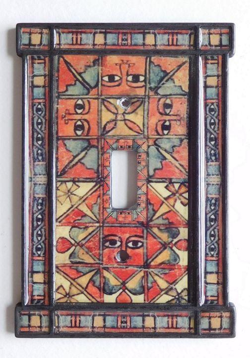Ethiopian  Magic scroll close up 2