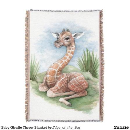 baby-giraffe-throw