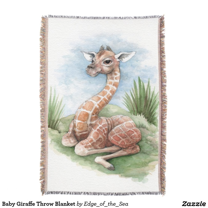 baby-giraffe-throw
